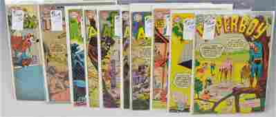 Early DC .10 cent Assorted Comic Books