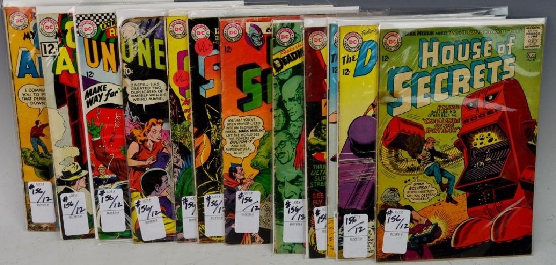DC 12 cent Silver Age Comic Book Grouping