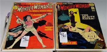 Wonder Woman Comic Book Grouping 70