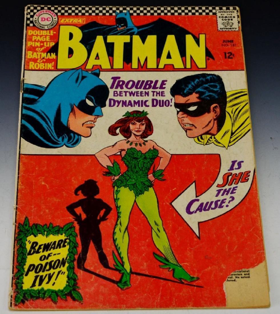 Batman #181 1st. Appearance of Poison Ivy
