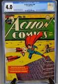 Action Comics #56-1943 CGC