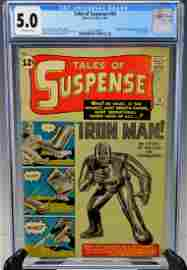 Tales of Suspense #39 1st App of Iron Man CGC