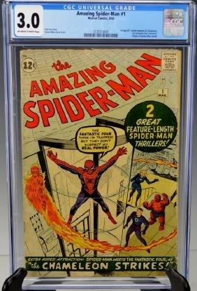 Amazing Spider-man #1 CGC 3.0