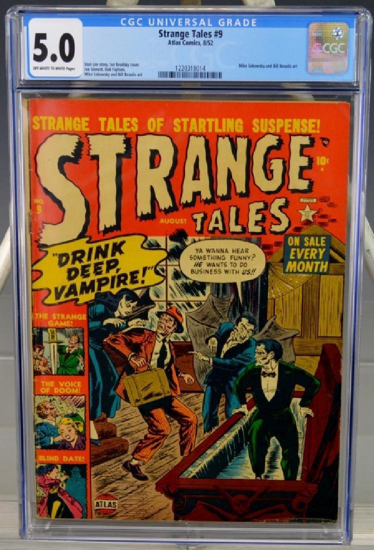 Strange Tales #9-1952 Vampire Issue