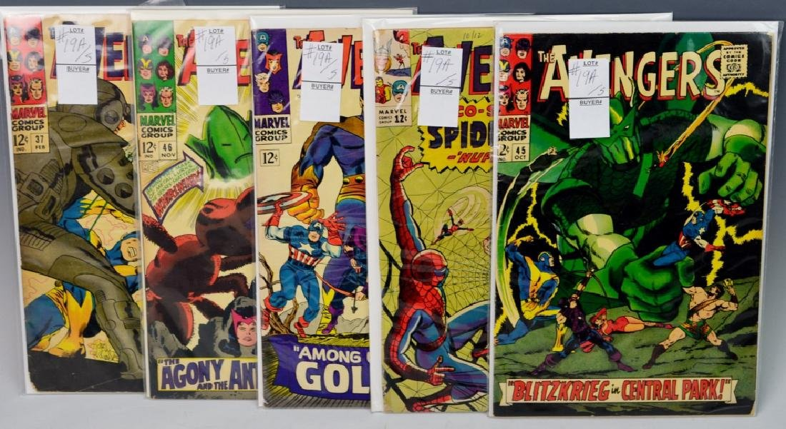 Silver Age Avengers Comic Grouping