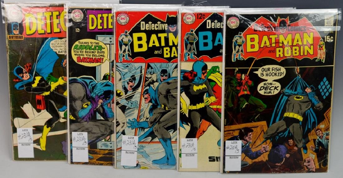Silver Age Detective Comics Grouping