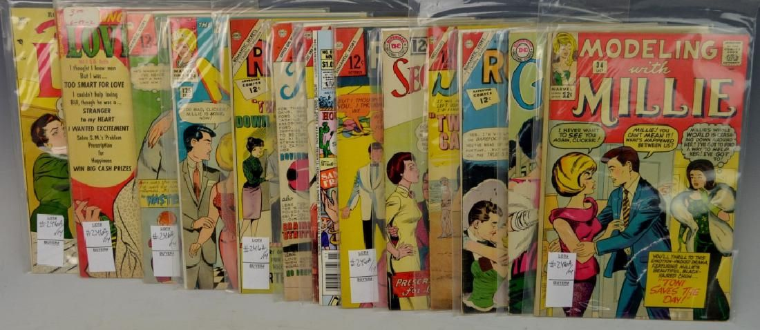 Romance Comic Book Grouping