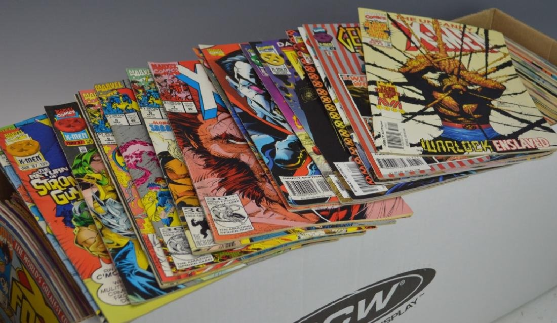 Long Box of Assorted X-Men or Related Comics