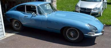 1967 Jaguar E-Type 4.2 SI Coupe Started and was Running
