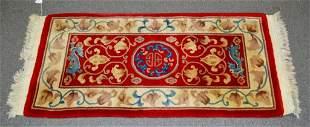 Red Chinese Oriental Runner