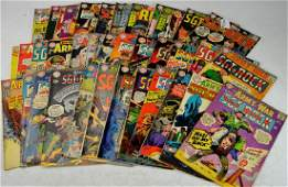 Silver Age Sgt. Rock Comic Grouping