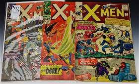 Silver Age X-men Comic Book Grouping
