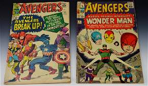 Avengers #9 & #10 Comic Book Grouping