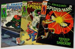 Amazing Spider-Man Comic Book Grouping