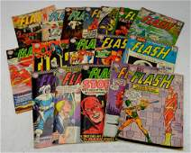 Silver Age Flash Comic Book Grouping