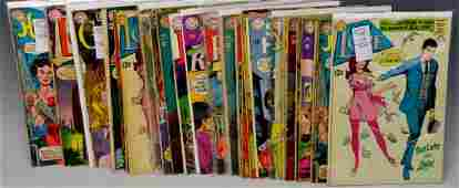 12 cent DC Silver Age Romance Comic Grouping