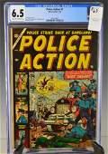 Police Action #1 CGC 6.5 Comic Book
