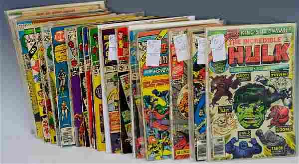 Marvel / DC Giant Silver & Bronze Age Comics