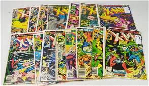 Bronze Age X-men Comic Book Grouping