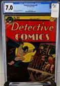 Detective Comics #92 CGC 7.0 1944