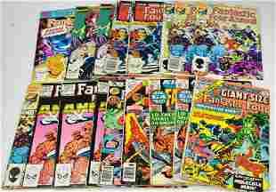 Marvel Fantastic Four Giant Comic Grouping