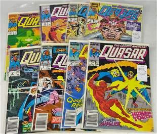 Marvel Quasar Comic Book Grouping