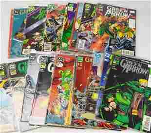 DC Green Arrow Comic Grouping