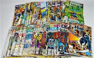 Marvel Fantastic Four Comic Grouping