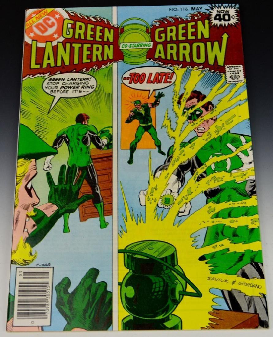 DC Green Lantern and Green Arrow Comic