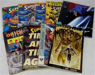 DC Superman Comic Book Grouping