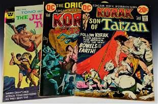 Jungle Comic Grouping