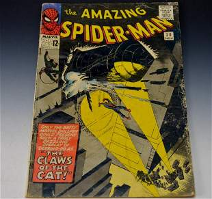 Amazing Spiderman 30 1st The Cat