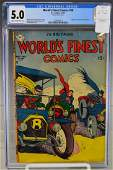 World's Finest Comics #50-1951 CGC 5.0