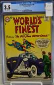 World's Finest Comics #92-1958 CGC 3.5