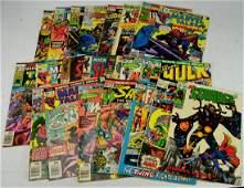 Marvel Superhero Comics Grouping