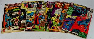 DC Silver and Bronze Age Worlds Finest Grouping