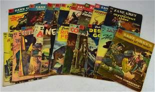Assorted Western Zane Greys Comic Grouping