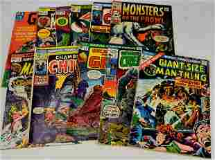 Marvel and Dell Monster Comic Grouping