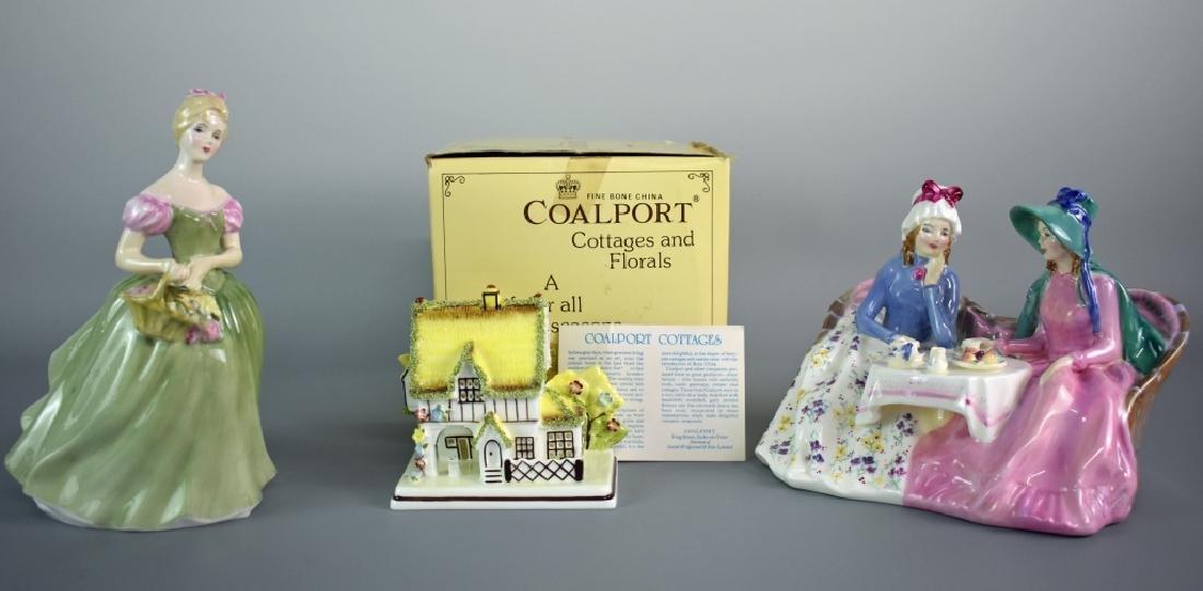 Royal Doulton and Coalport Grouping