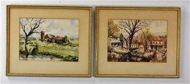Dwyers Paintings of Farm Scenes