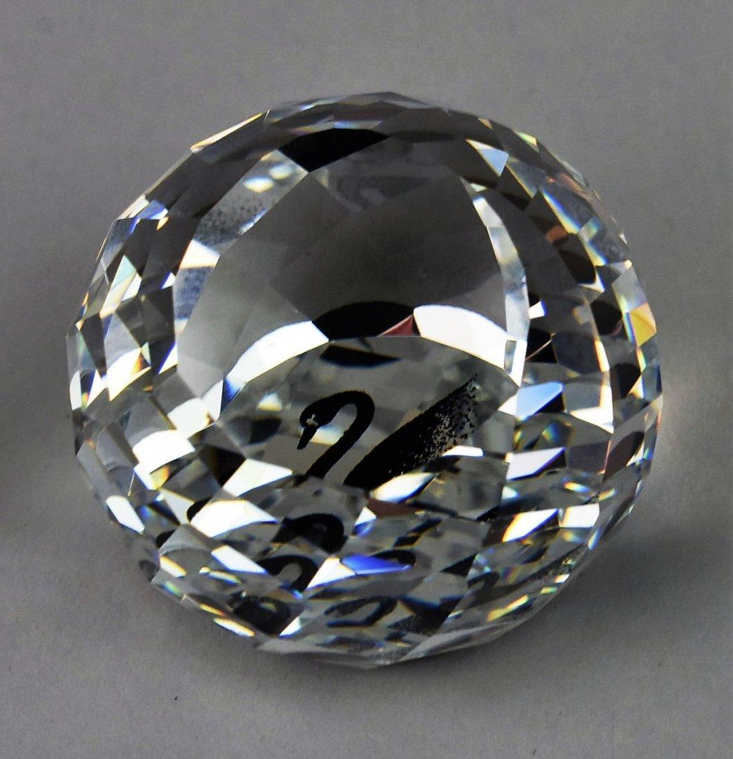 Swarovski Silver Crystal Swan Grouping - 5