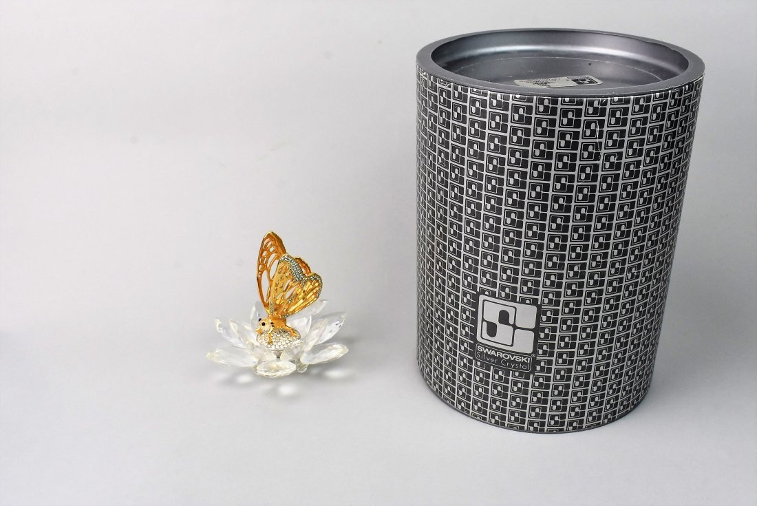 Swarovski Crystal Butteryfly In Flight