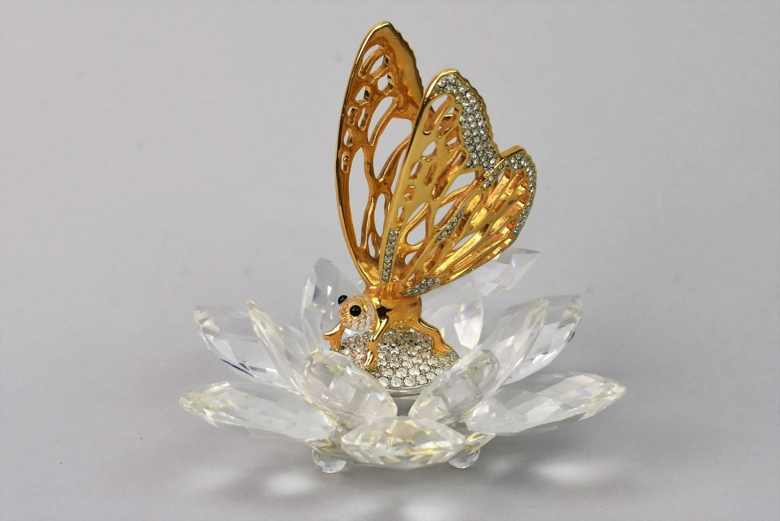 Swarovski Crystal Butteryfly In Flight - 2