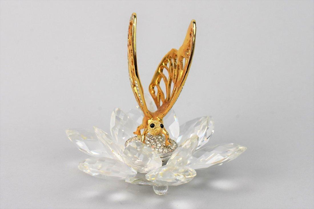 Swarovski Crystal Butteryfly In Flight - 3