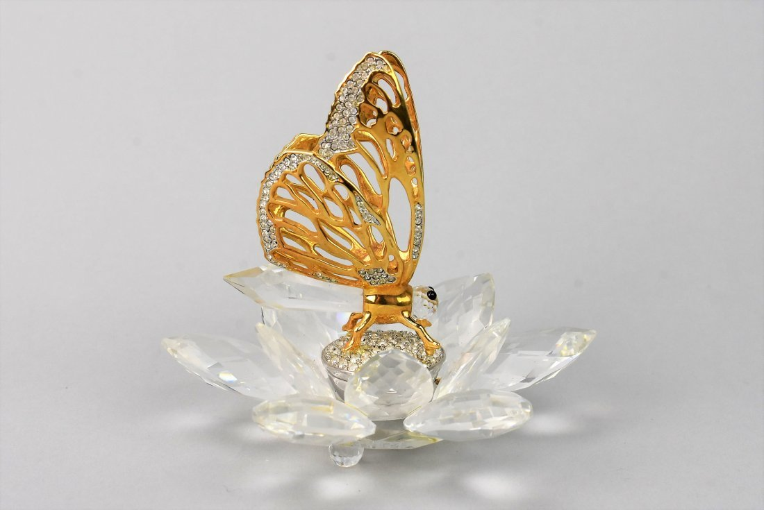 Swarovski Crystal Butteryfly In Flight - 4