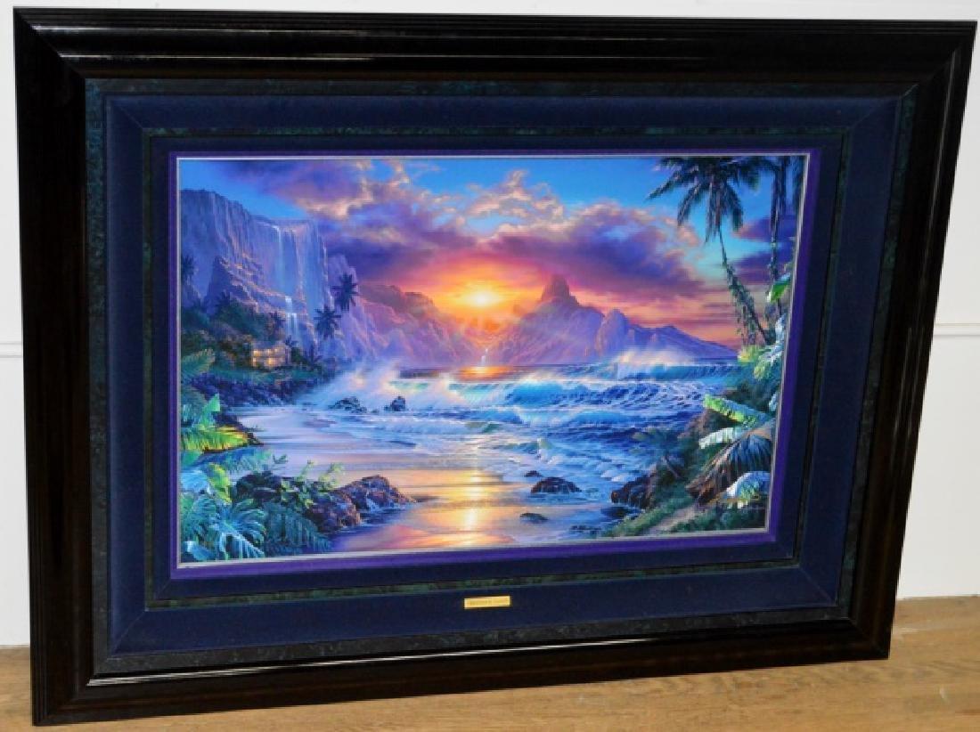 Signed Christian R. Lassen Framed Artwork