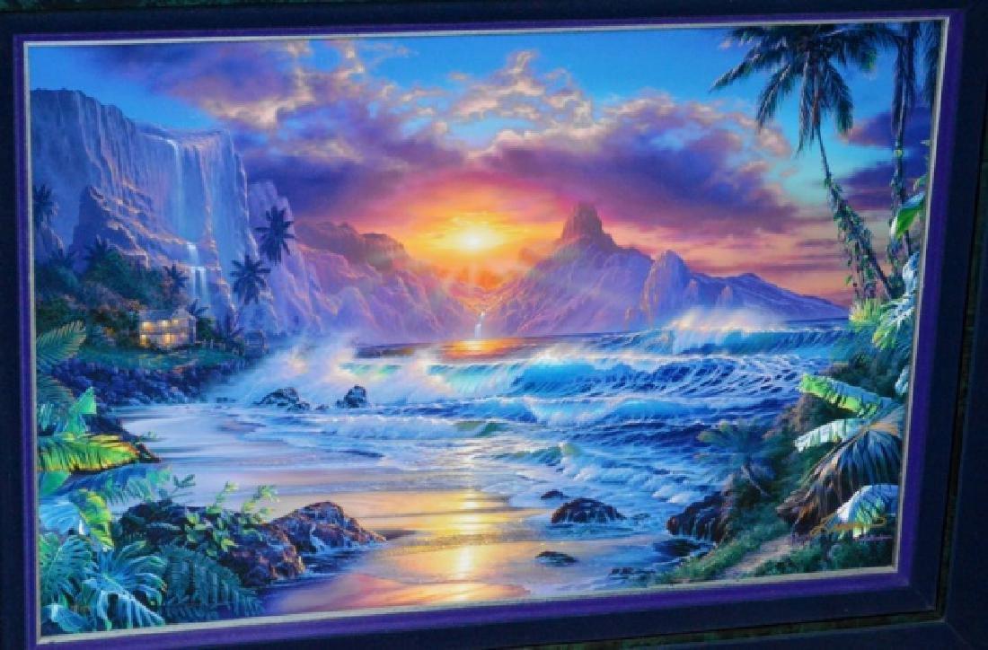 Signed Christian R. Lassen Framed Artwork - 2