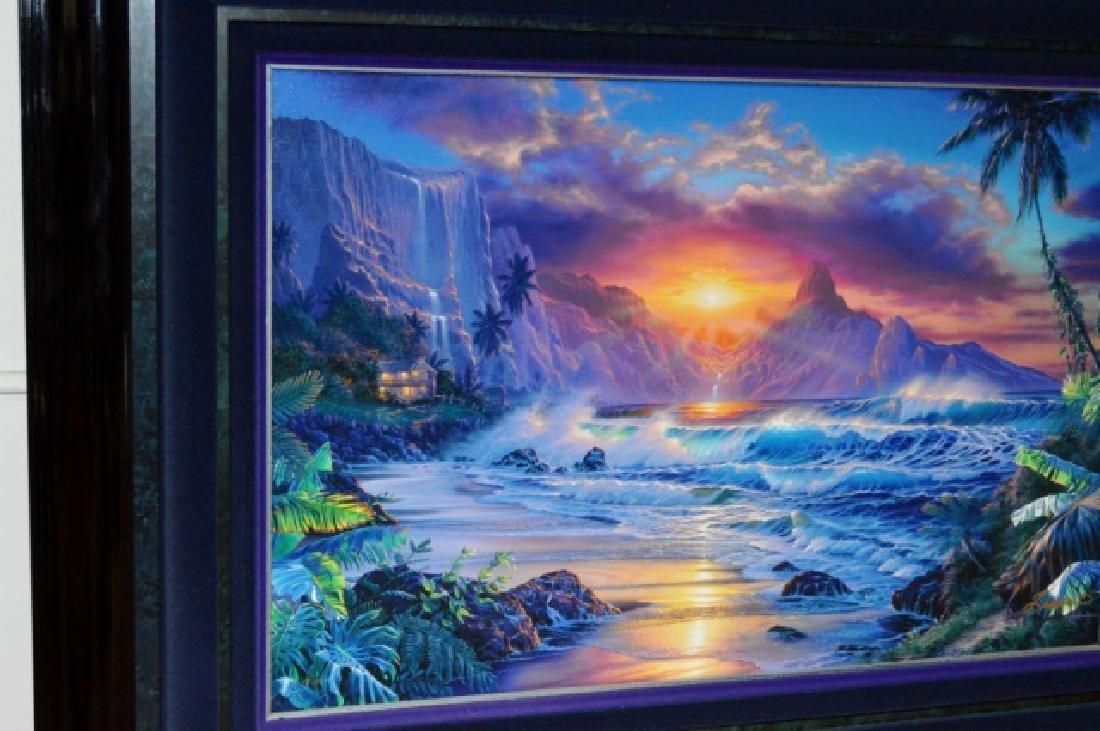 Signed Christian R. Lassen Framed Artwork - 3