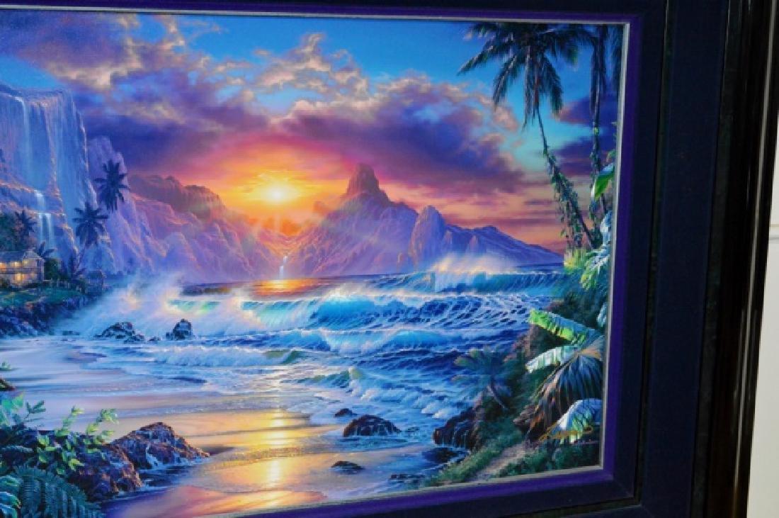 Signed Christian R. Lassen Framed Artwork - 4