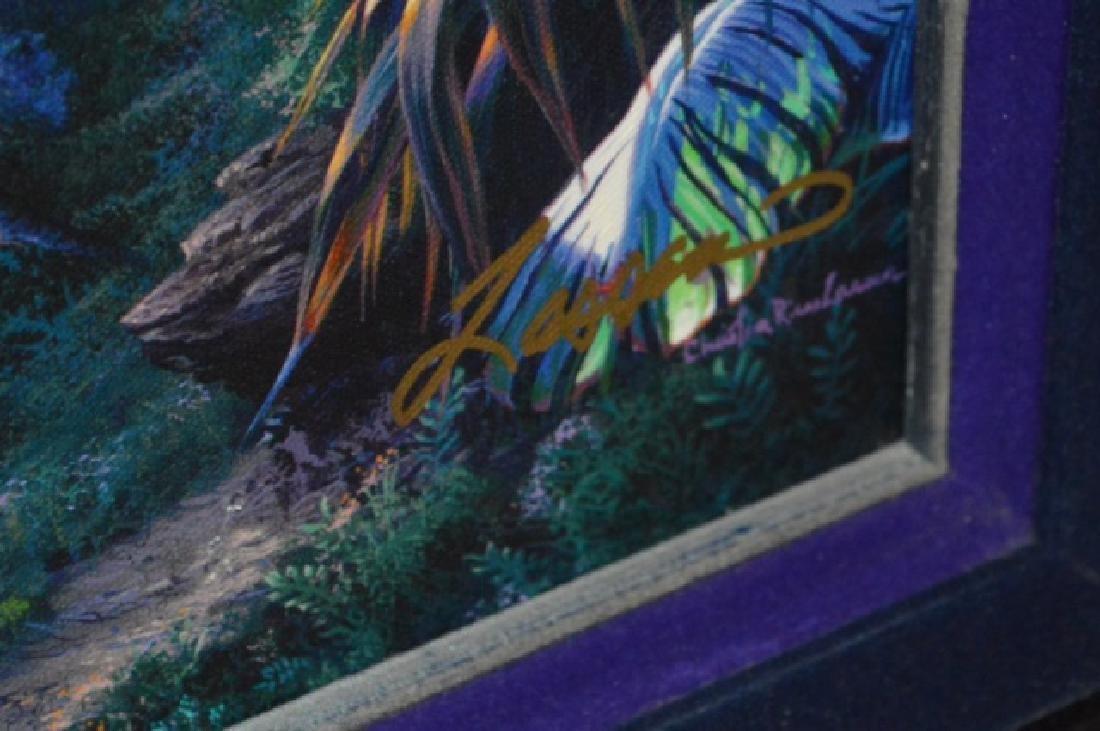 Signed Christian R. Lassen Framed Artwork - 6